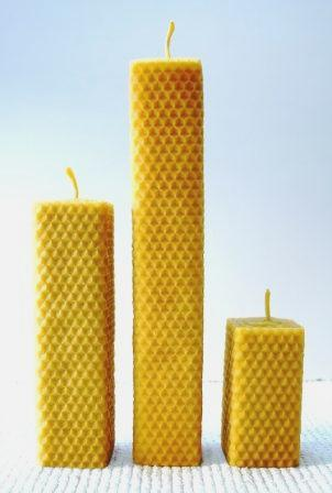 square beeswax candles_web